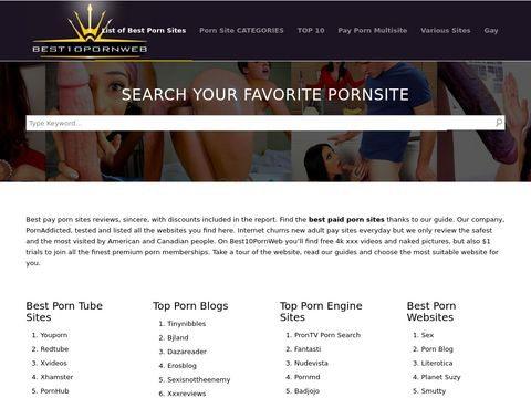 Best Pay Porn Sites Thumbnail