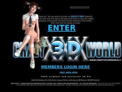 CrazyXXX3Dworld Thumbnail