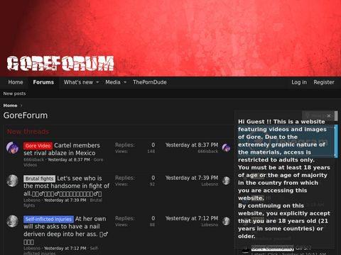 GoreForum Thumbnail