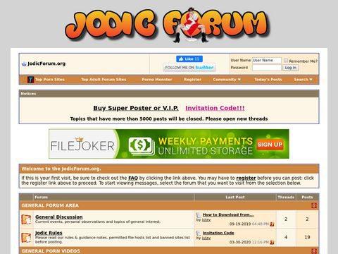 Jodic-Forum Thumbnail