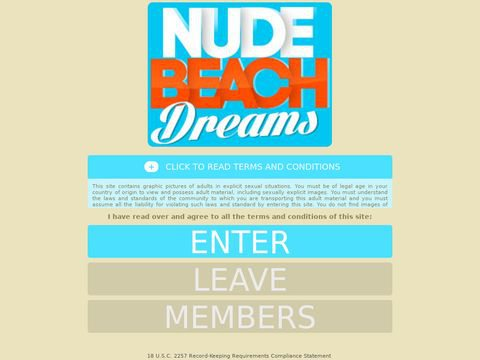 Nude Beach Dreams Thumbnail