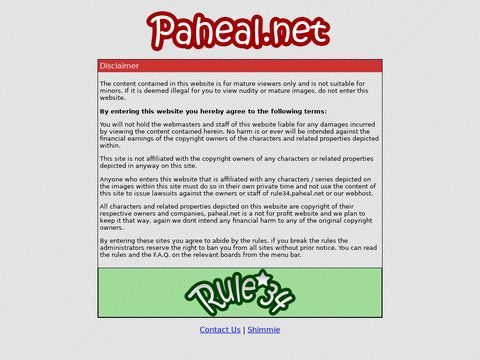 Rule 34 Paheal Thumbnail