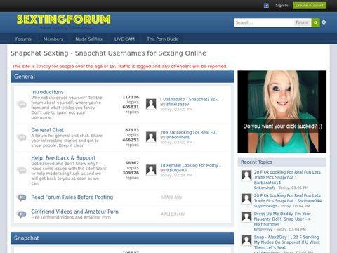 Sexting Forum Thumbnail