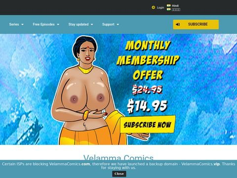 Velamma Comics Thumbnail