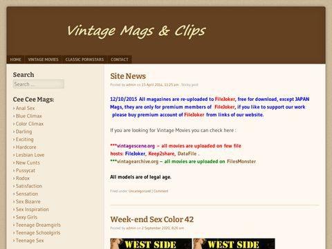 VintageMags Org Thumbnail