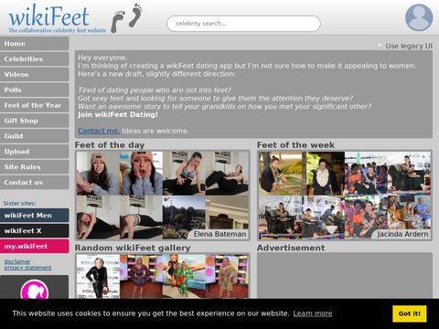 WikiFeet Thumbnail